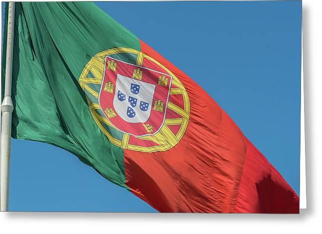 Portugal, Lisbon, Edward Vii Park Greeting Card