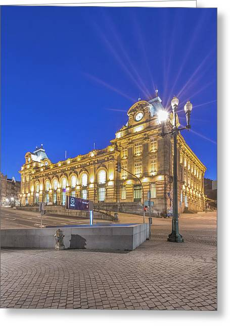 Portugal, Porto, Sao Bento Station Greeting Card
