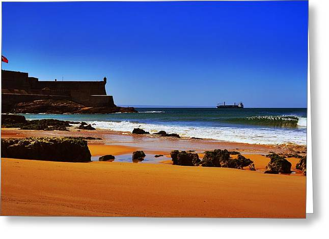 Portuguese Coast Greeting Card
