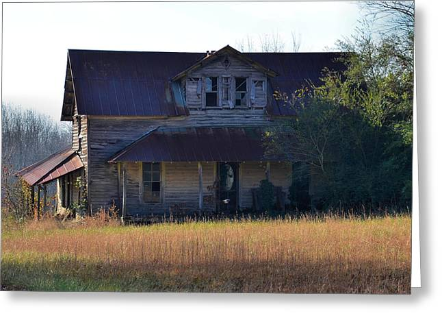 Possibly Haunted House Old 421 - 51008617f Greeting Card by Paul Lyndon Phillips