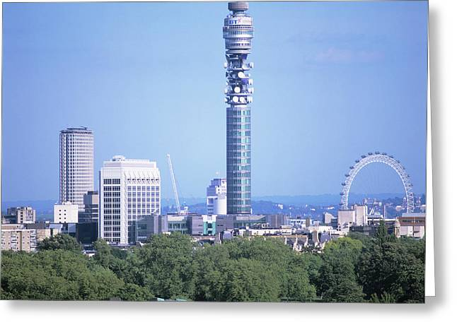 Post Office Tower Greeting Card