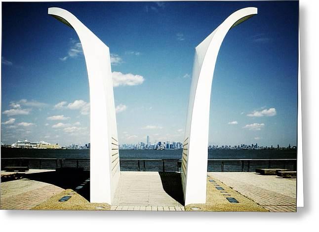 Postcards 9/11 Memorial Greeting Card