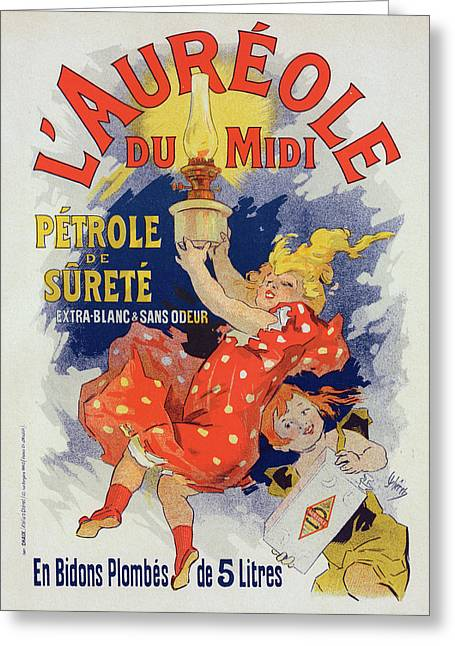 Poster For Lauréole Du Midi. Chéret, Jules Greeting Card