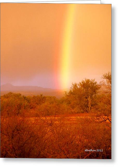 Pot O Gold Greeting Card by Dick Botkin