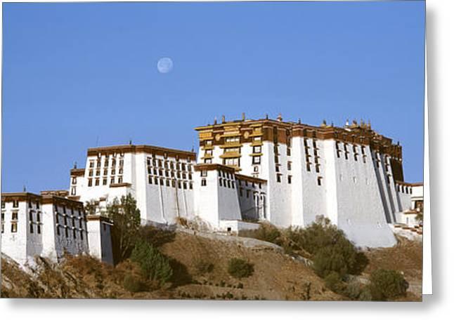 Potala Palace Lhasa Tibet Greeting Card
