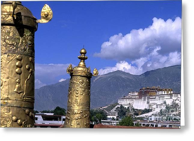 Potala Palace, Tibet Greeting Card