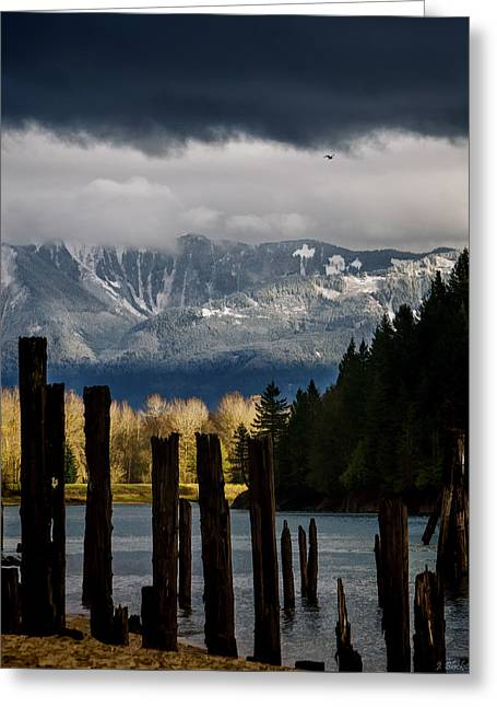 Potential - Landscape Photography Greeting Card