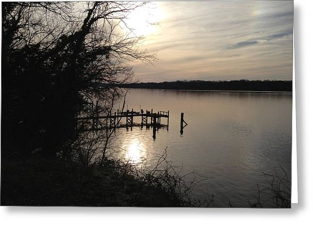 Potomac Reflective Greeting Card