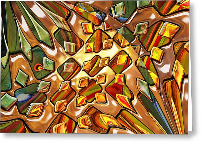Potpourri - Optimized For Metallic Or Glossy Paper Greeting Card
