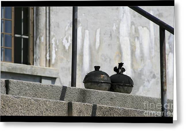 Pots On The Porch Greeting Card
