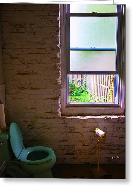 Potty With A View Greeting Card
