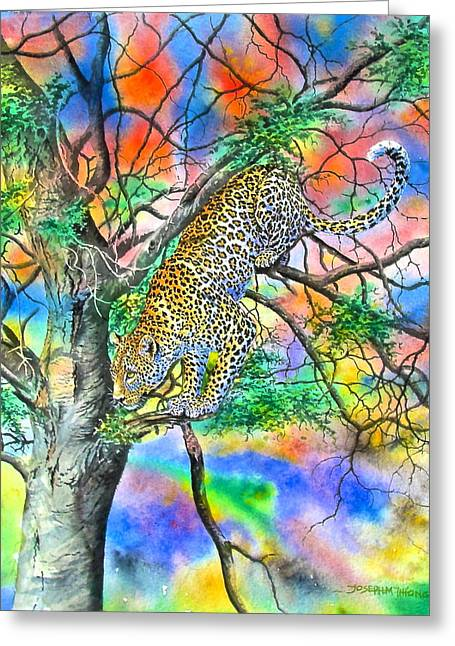 Pounce Greeting Card