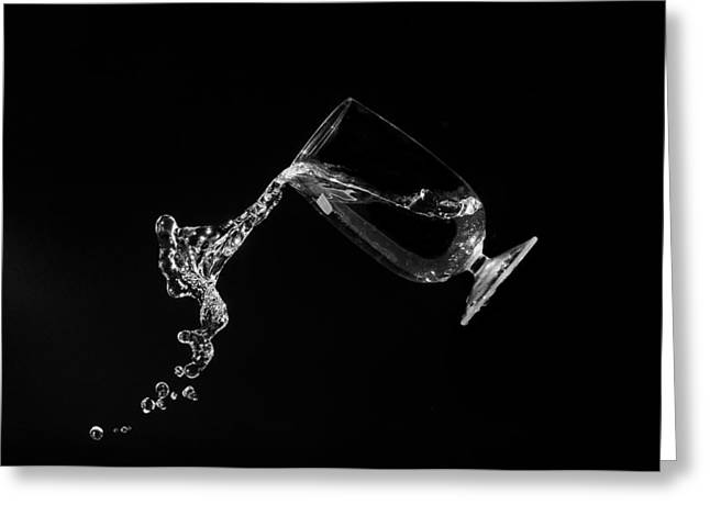 Pour Me Some Wine Greeting Card
