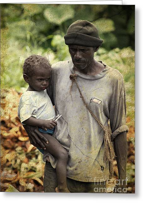Poverty Greeting Card