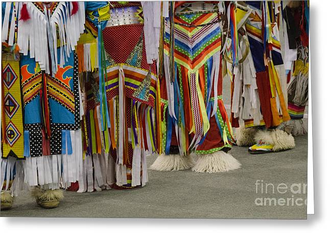 Pow Wow First Nations 10 Greeting Card