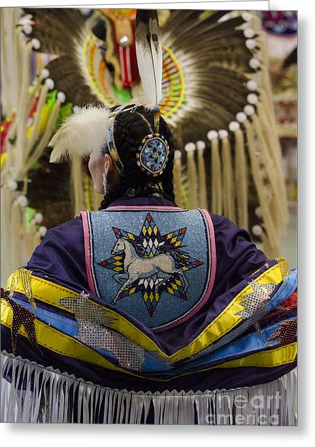 Pow Wow First Nations 14 Greeting Card