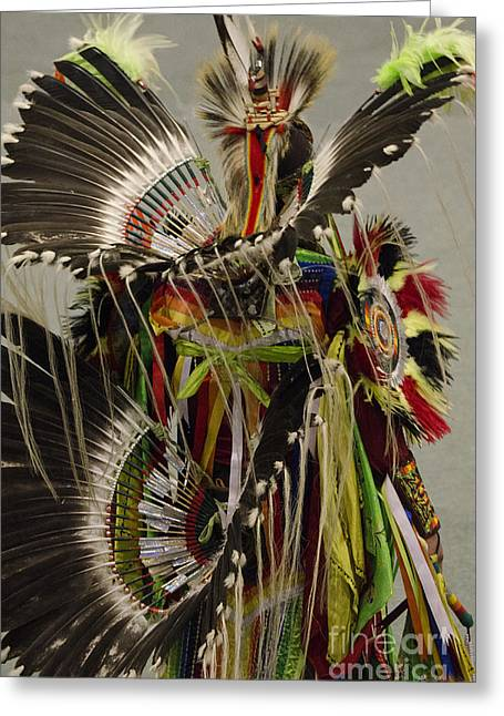 Pow Wow First Nations 20 Greeting Card by Bob Christopher