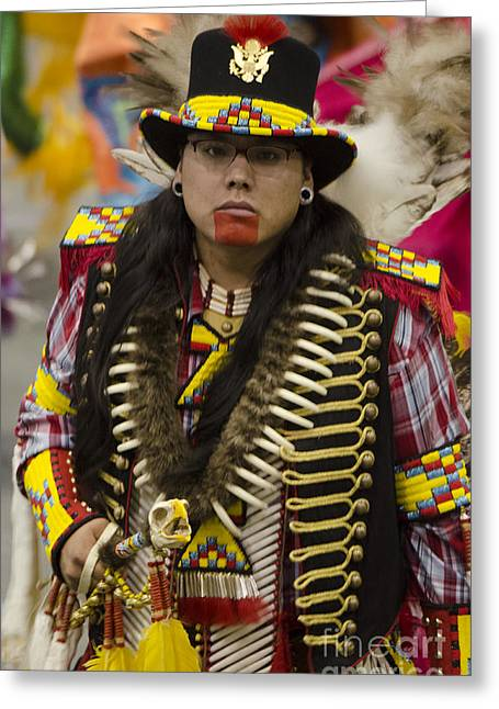 Pow Wow First Nations 5 Greeting Card