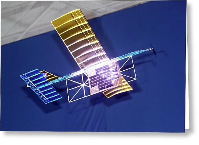 Power-beam Aircraft Research Greeting Card by Nasa/tom Tschida