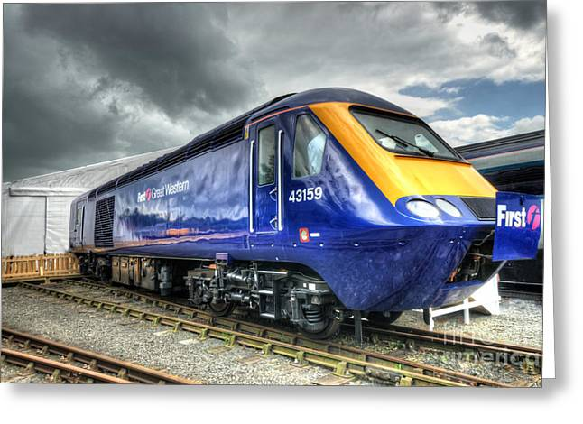 Hst Record Breaker  Greeting Card by Rob Hawkins