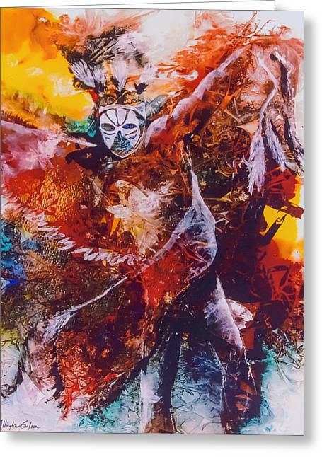 Power Dance I Greeting Card by Patricia Allingham Carlson