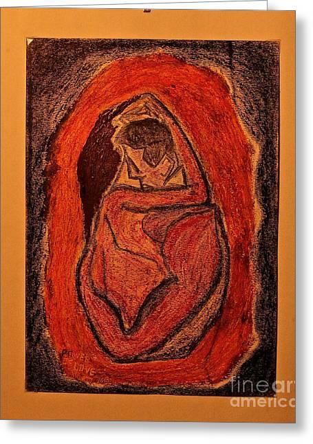 Power  Of  Love... Love...love ... Greeting Card by  Andrzej Goszcz
