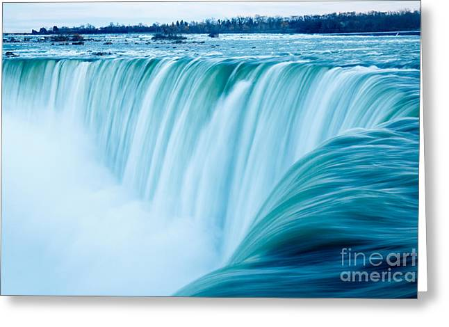 Power Of Niagara Falls Greeting Card