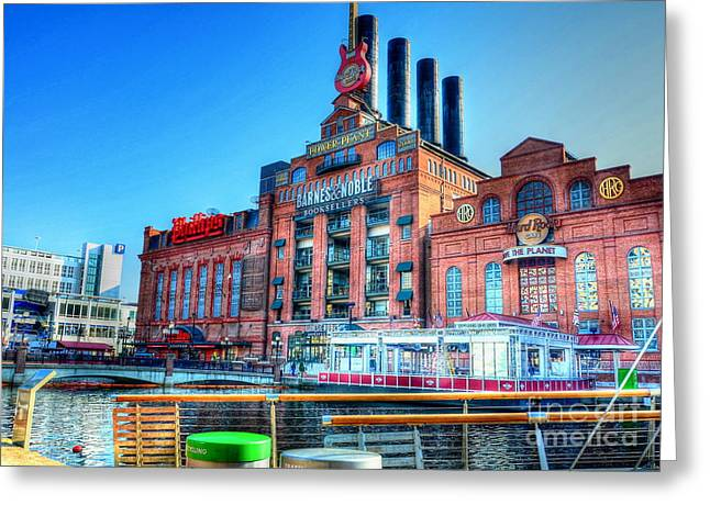 Power Plant Greeting Card by Debbi Granruth