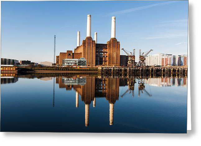 Power Station Greeting Card