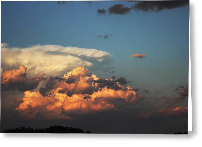 Powerful Cloud Greeting Card