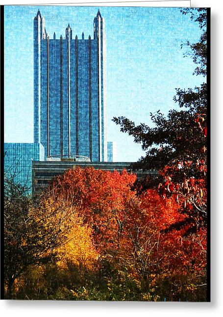 Greeting Card featuring the photograph Ppg In Autumn by Joe Winkler