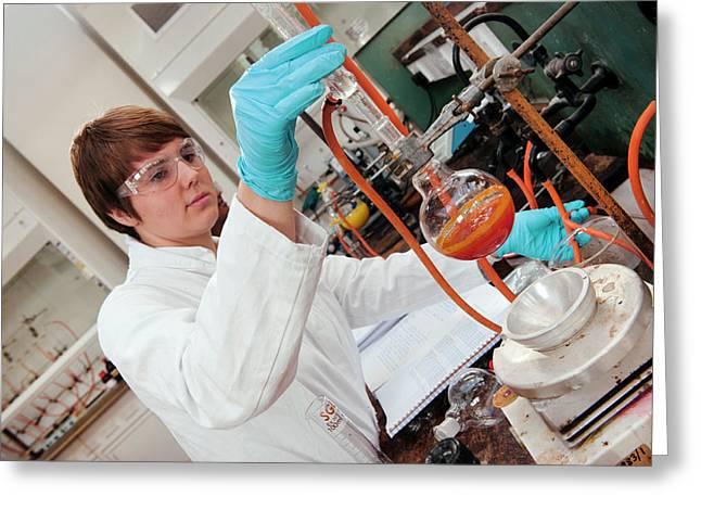 Practical Chemistry Work Greeting Card