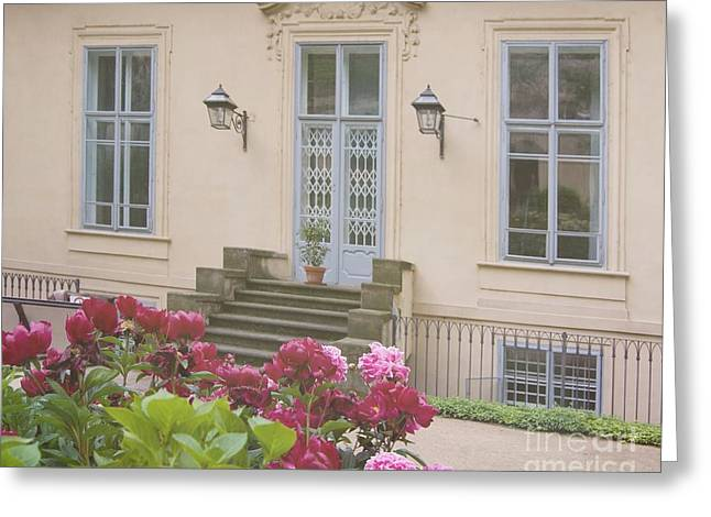 Prague Gardens Greeting Card