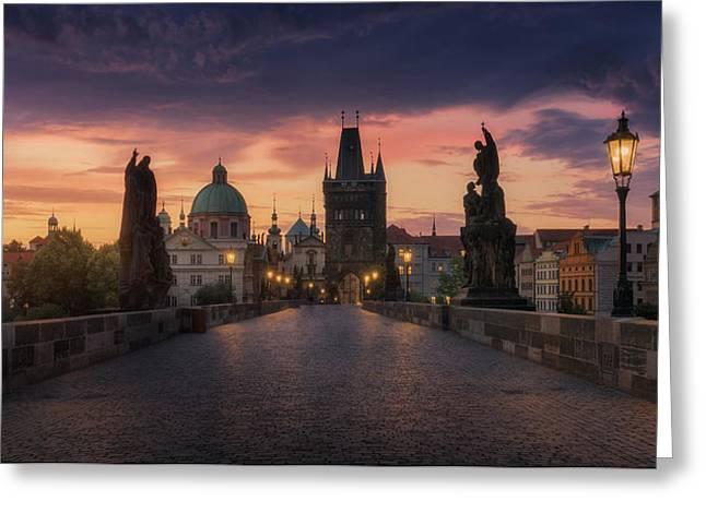 Prague-ii Greeting Card