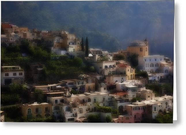 Praiano Amalfi Coast Greeting Card
