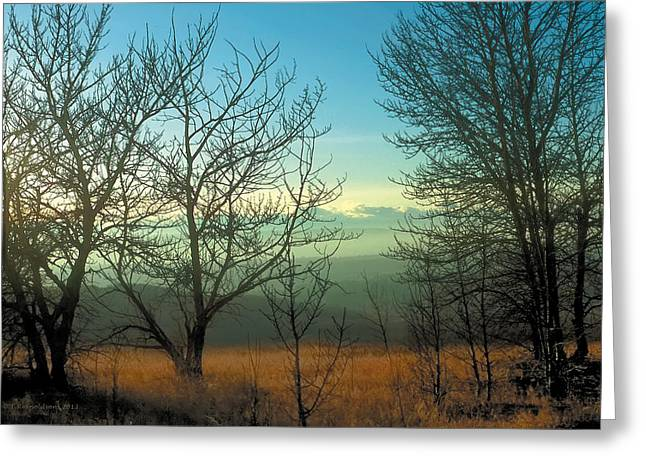 Prairie Autumn 2 Greeting Card