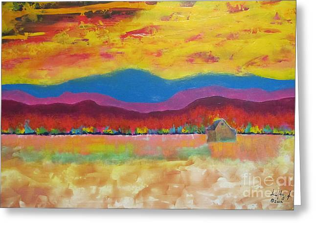 Prairie Autumn Greeting Card