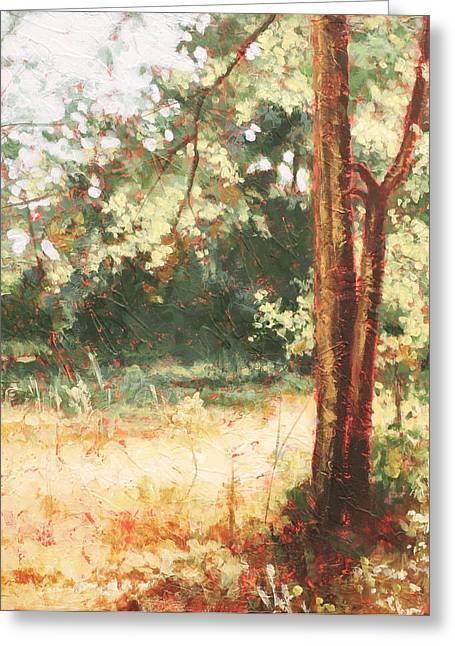 Prairie Light 2 Greeting Card by Carlynne Hershberger