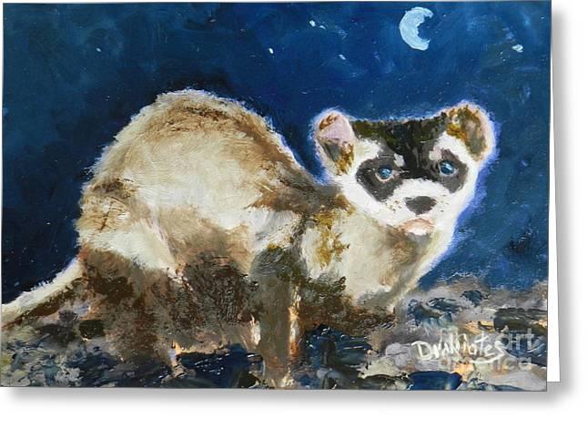 Prairie Night Greeting Card