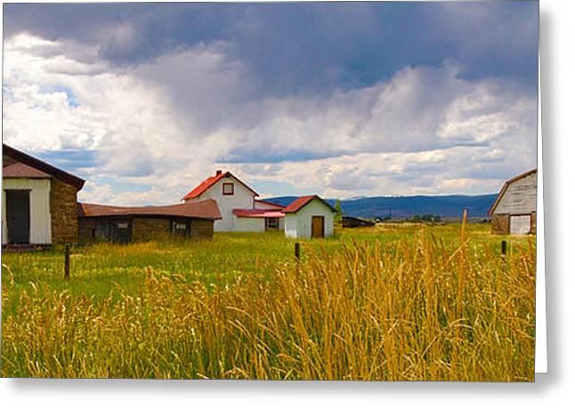 Wyoming Prairie Scene Greeting Card