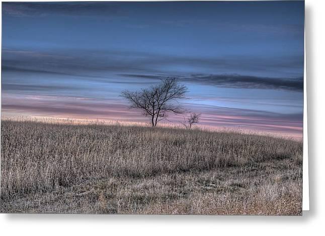 Prairie Sunset North Dakota 1 Greeting Card
