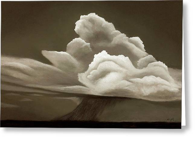 Prairy Storm IIi Greeting Card by Garry McMichael