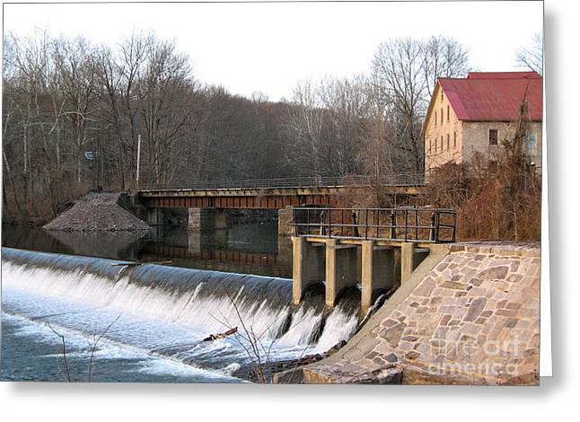 Prallsville Mill Greeting Card