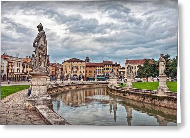 Prato Della Valle Greeting Card