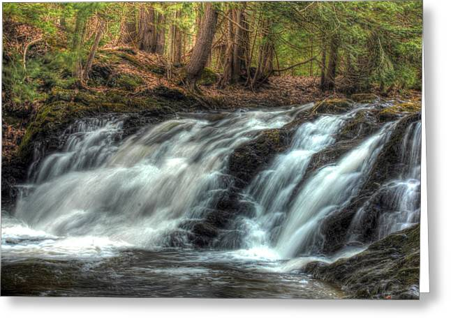 Pratt Brook Falls Greeting Card