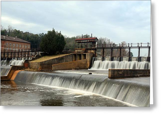 Prattville Dam Prattville Alabama Greeting Card