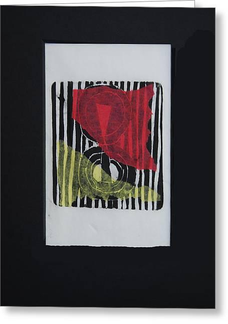 Prayer Flag - II Greeting Card
