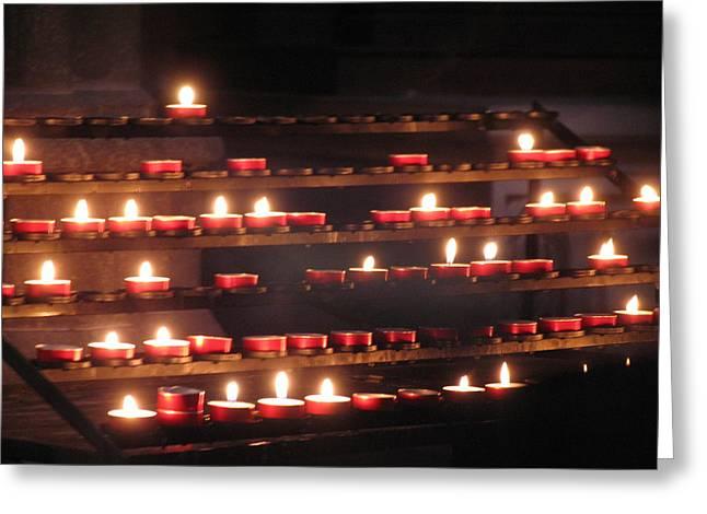 Prayer Lights Greeting Card
