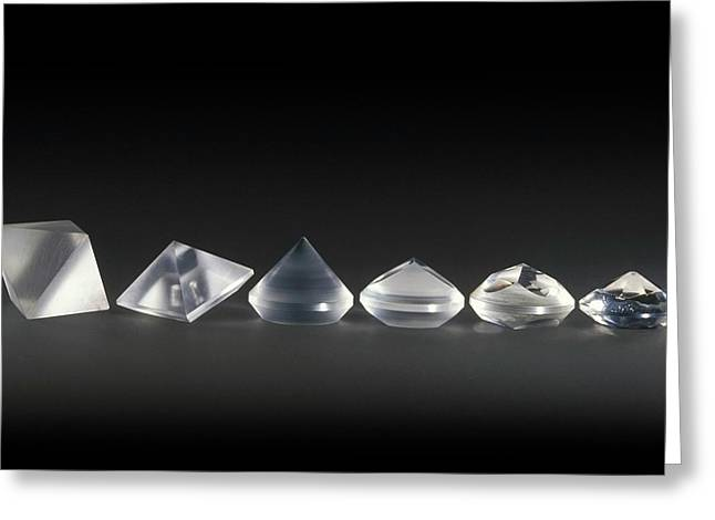 Pre-cut Diamond Forms Greeting Card
