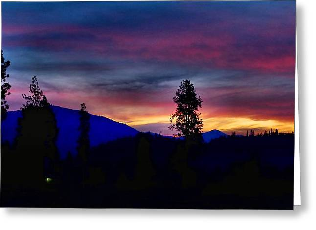 Greeting Card featuring the photograph Pre-dawn Hues by Julia Hassett